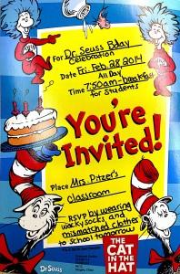 Seuss Invite